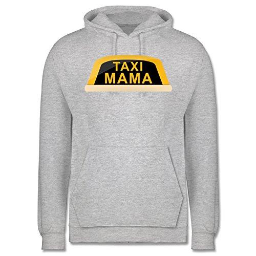Weihnachten & Silvester - Taxi Mama - Männer Premium Kapuzenpullover / Hoodie Grau Meliert