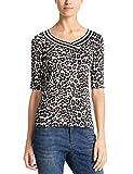 Marc Cain Sports Damen T-Shirts Mehrfarbig (Hazelnut 634) 36 (Herstellergröße: 2)