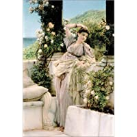 posterlounge acrylglasbild 100 x 150 cm du rose aller rosen von lawrence alma tadema