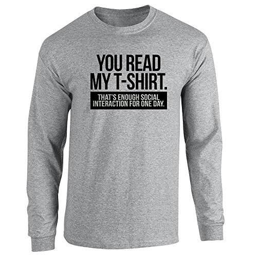Pop Threads Herren T-Shirt Grau - Sport Grey