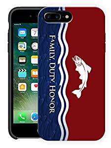 "Humor Gang Family Duty Honour Motivational Printed Designer Mobile Back Cover For ""Apple Iphone 7 Plus"" (3D, Matte Finish, Premium Quality, Protective Snap On Slim Hard Phone Case, Multi Color)"