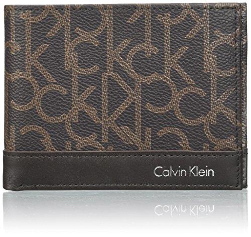 7effbdcb17 Calvin Klein Greg Mono 5cc Coin, Portafoglio Uomo, 3×9.5×12.5 cm (W ...