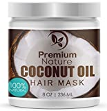 Best Deep Conditioner For Damaged Hairs - Coconut Oil Hair Mask Conditioner - 236 ml Review