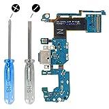 MMOBIEL Dock Connector für Samsung Galaxy S8 Plus G955F USB C Ladebuchse Charging Port Flexkabel mit Mikrofon vorinstalliert und Selbstklebender Unterseite inkl 2 x Schraubenzieher