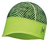 Buff® Set - TECH Fleece HAT Wintermütze + UP® Ultrapower Schlauchtuch | Beanie | Logo | Atmungsaktiv | Geruchshemmend | Winddicht | Warm, Buff Design allgemein:Xyster Yellow FLUOR | 113387.117.10
