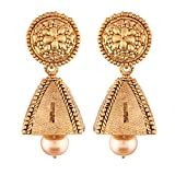 #5: I Jewels High Gold Plated Jhumki/Jhumkas Earrings for Women (E2439FL)