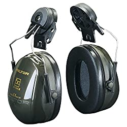3m™ Peltor™ Optime™ Ii Earmuffs, 30 Db, Green, Helmet Mounted, H520p3e-410-gq