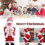 Gaddrt Santa tanzen Elektrische Kinder Spielzeug Tanzen Santa Doll Gesang Tanzen Cute Santa Doll Hot 27 x 12 x 8cm.