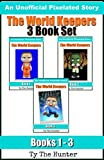 The World Keepers: Roblox - 3 Book Box Set (Pixelated Gaming Stories)