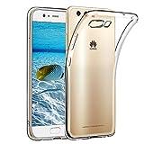 Hülle für Huawei P10, Wsiiroon Huawei P10 Handyhülle - Crystal Clear Ultra Dünn Durchsichtige Silikon Schutzhülle TPU Case für Huawei P10 Transparent