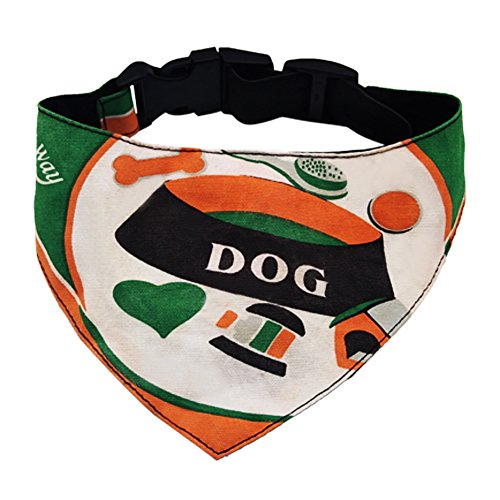 Dog Bandana Pet Scarf Neckerchief Collar Adjustable Pet Fashion Accessory for Medium Large Cats Accessories Dress
