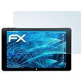 atFolix Schutzfolie kompatibel mit Kiano Intelect 8.9 MS 3G Folie, ultraklare FX Displayschutzfolie (2X)