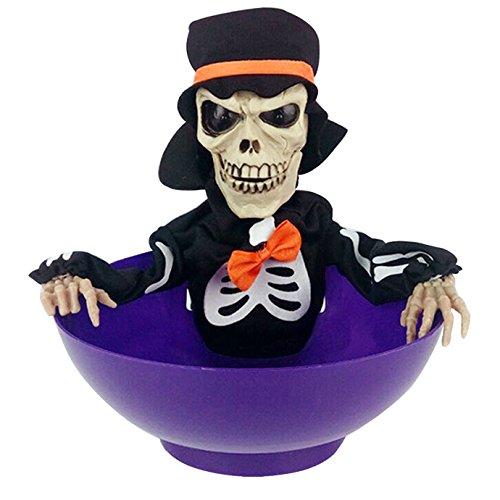 AISI Halloween Skull Light Control Spielzeug FRUIT Teller -