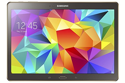 Price comparison product image Samsung Galaxy Tab S 10.5-inch Tablet (Bronze) - (ARM Exynos 5 Octa-Core 1.9GHz, 3GB RAM, 16GB Storage, Wi-Fi, 3G, 4G LTE, Android 4.4)