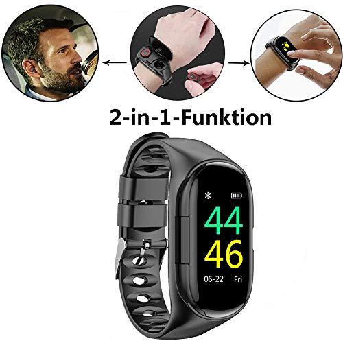 TOMATION 2 in 1 Smartwatch mit TWS