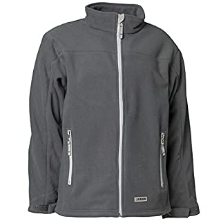 Planam Fleece Jacke Winter Retro, Größe XXL, grau, 3446060
