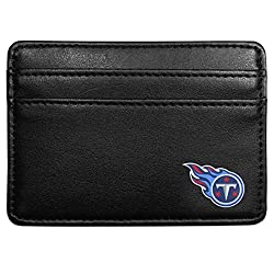 NFL Tennessee Titans Leather Weekend Wallet, Black