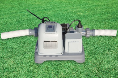 Intex 12-28664GS Krystal Clear Salzwassersystem, Chlorgenerator Generation 3, 230 V, 125 W, TÜV/GS, benötigte Filterleistung mindestens 2,650 l/h - 3