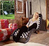 Relaxschaukel Sessel-Liegeschaukel DREAMLINER STANDARD (170x66 cm) (weiß/blau)