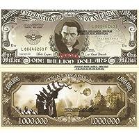 Novelty Dollar Classic Horror Movies Million Dollar Bills Set of 18 American Monster Films
