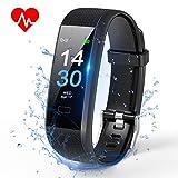 TOPLUS Fitness/Gesundheits Tracker Armband Smart Uhr Wasserdicht IP 68...