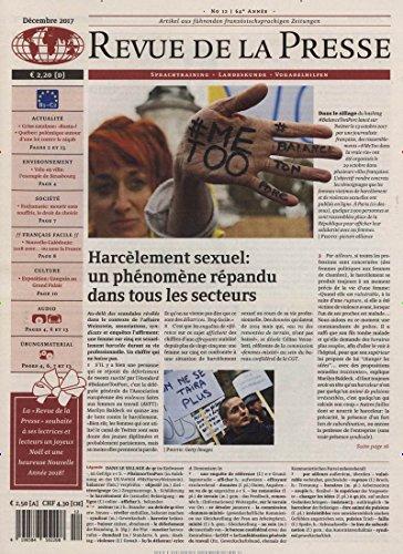 Revue de la Presse [Jahresabo]