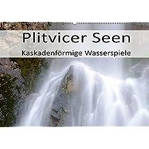 Plitvicer Seen - Kaskadenförmige Wasserspiele (Wandkalender 2019 DIN A2 quer): Erleben Sie die Plitvicer Seen, eine einzigartige Landschaft und das (Monatskalender, 14 Seiten) (CALVENDO Natur)