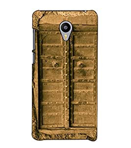 Fuson Designer Back Case Cover for Meizu M3 Note :: Meizu Note 3 (Closed Door Fort Home)