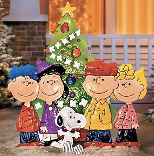 Peanuts Gang Caroling am Baum Weihnachten Dekoration