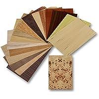 Set de chapa de madera, 17modelos diferentes, madera, nogal, roble, teca.. y mucho másJuego de manualidades, diseño, marquetería.