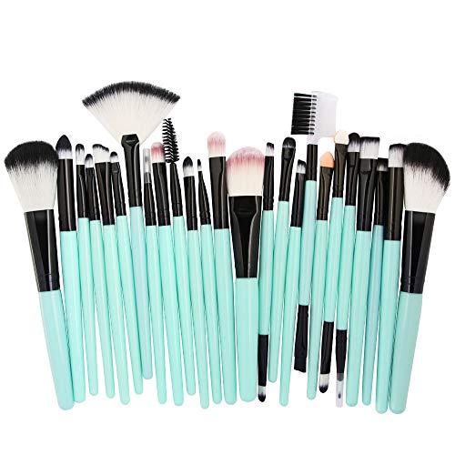 Cwemimifa Make-up-Pflegeset,25pcs Cosmetic Makeup Brush Blusher Eye Shadow Brushes Set Kit,D -