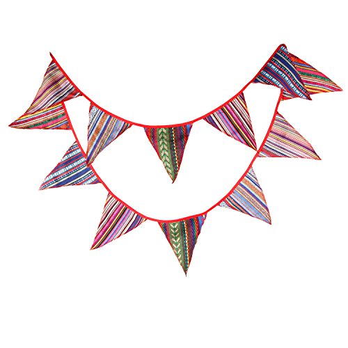 33m-gypsy-ethnic-fabric-flag-outdoor-tent-buntings-garlands-wedding-birthday-party-decoration