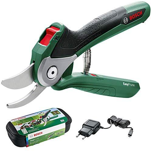 Bosch elektrische Gartenschere EasyPrune (integrierter 3,6 Volt Akku, 450 Schnitte/Akkuladung, in Blisterpackung) -