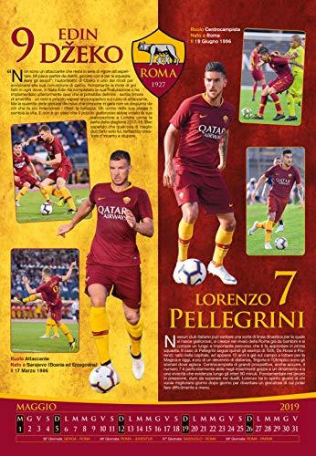 Calendario Asroma.Calendario Roma 2019 15 Ikbenalles