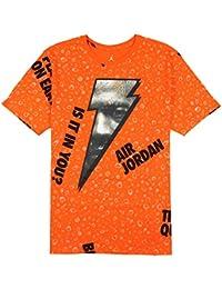 785eb790 Jordan Men's Retro 1 Be Like Mike Gatorade T-Shirt XXX-Large Orange Black