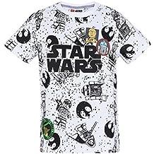 LEGO Star Wars Chicos Camiseta Manga Corta - Blanco