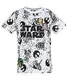 LEGO Star Wars Jungen T-Shirt - Weiß - 128