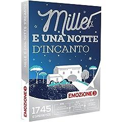 Idea Regalo - EMOZIONE3 - Cofanetto Regalo - MILLE E UNA NOTTE D'INCANTO - 1745 soggiorni