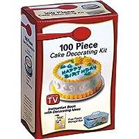 مجموعة تزيين الكيك من 100 قطعة