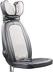 newgen medicals Massage: Shiatsu-Sitzauflage MA-600, Nackenmassage, IR-Tiefenwärme (Rückenmassage)