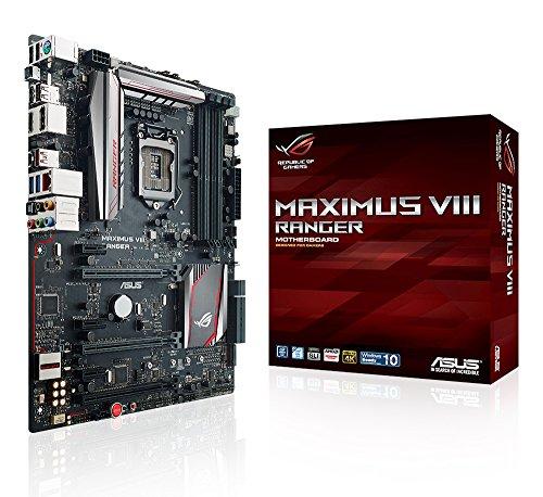 Asus Maximus VIII Ranger Gaming Scheda Madre, Nero