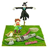 Studio Ghibli mini Howl's Moving Castle scarecrow of turnip and Marx and Hin MP07-35 non-scale paper craft