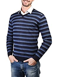 Rosso Fiorentino Herren Maglia V-Ausschnitt Jersey Pullover
