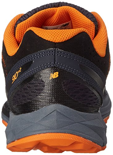 New Balance MT910 Large Synthétique Chaussure de Course Black / Orange