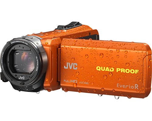 JVC GZ-R435DEU (Flash-Speicher/Speicherkarte,1080 Pixels)