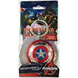 Marvel Captain America Shield Pewter Key Ring (japan import)
