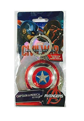 Third Party - Portachiavi - Bouclier Captain America - 0077764674211