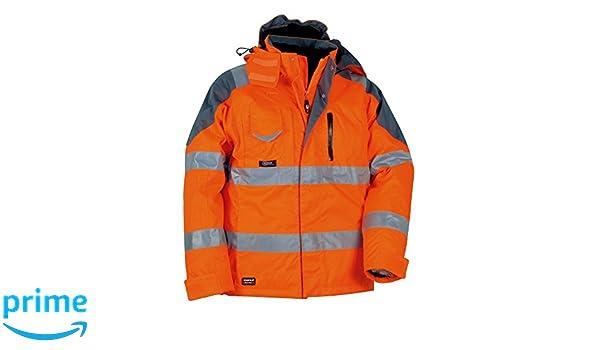 Orange Cofra V017-0-01.Z62Rescue Padded Jacket Size 62