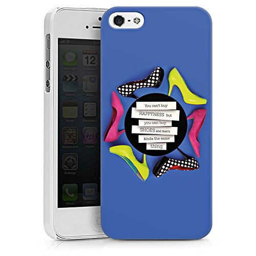 Apple iPhone X Silikon Hülle Case Schutzhülle Schuhe Schuhtick Shopping Hard Case weiß