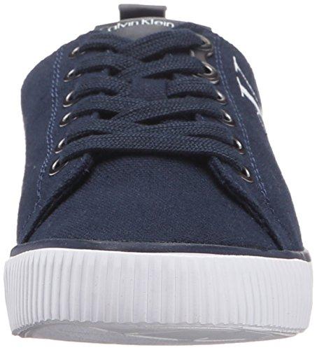Calvin Klein Jeans Dora Canvas, Baskets Basses Femme Bleu (Navy)